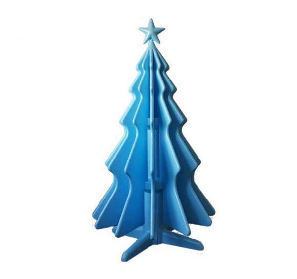 NatTy - abete in polistirolo, azzurro