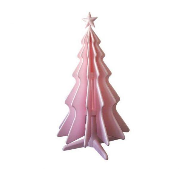 NatTy - abete in polistirolo, rosa